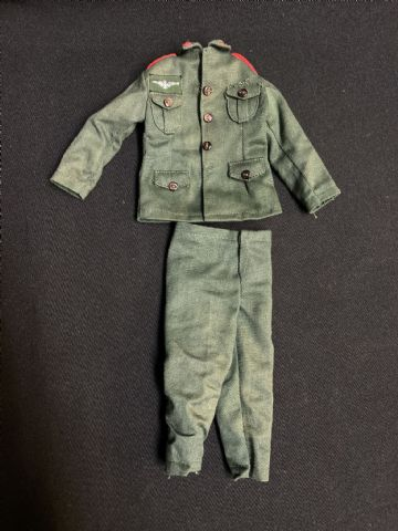 VINTAGE ACTION MAN - GERMAN STORMTROOPER  -  TUNIC & TROUSERS Soldiers of the World
